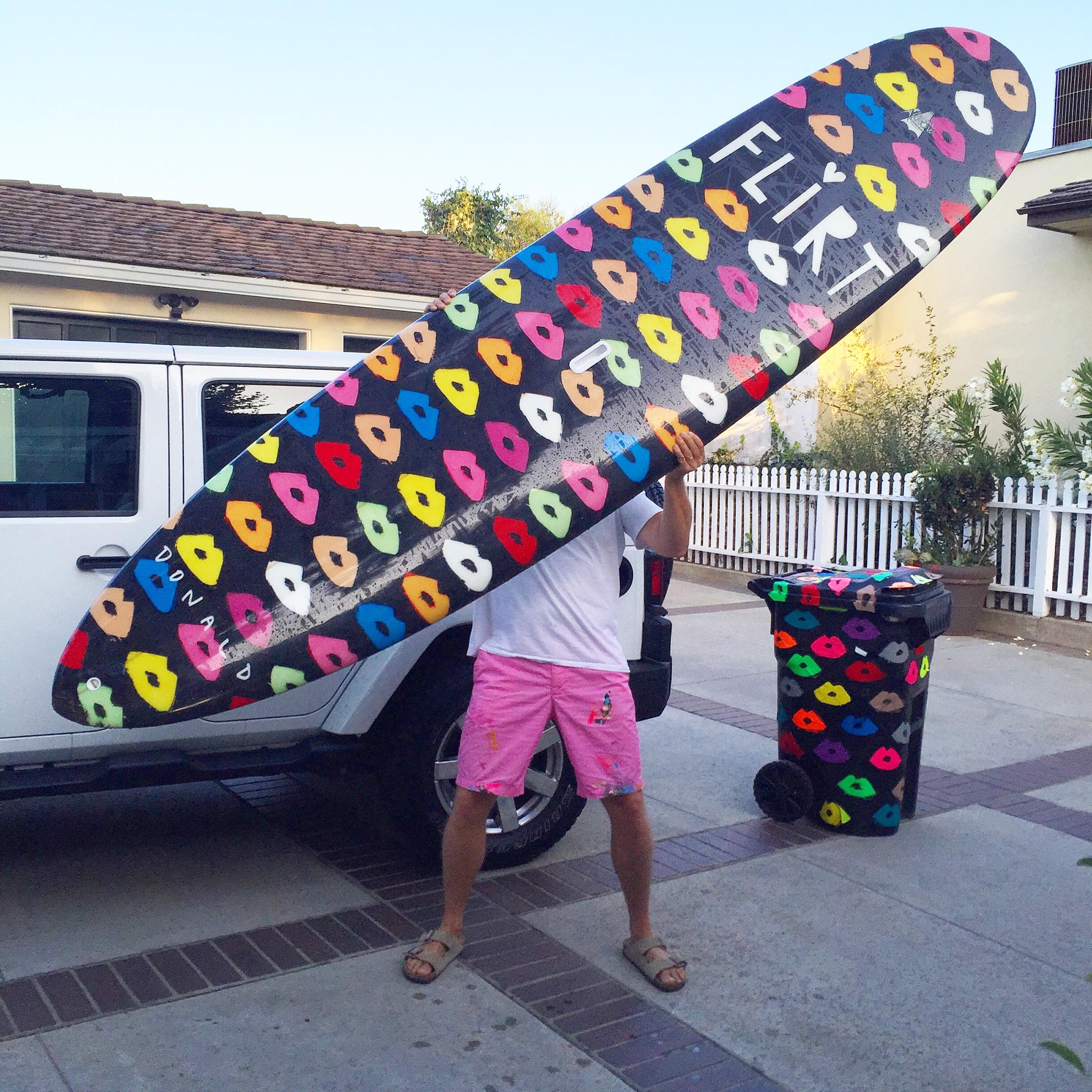 Donald Drawbertson Flirt Surfboard Design