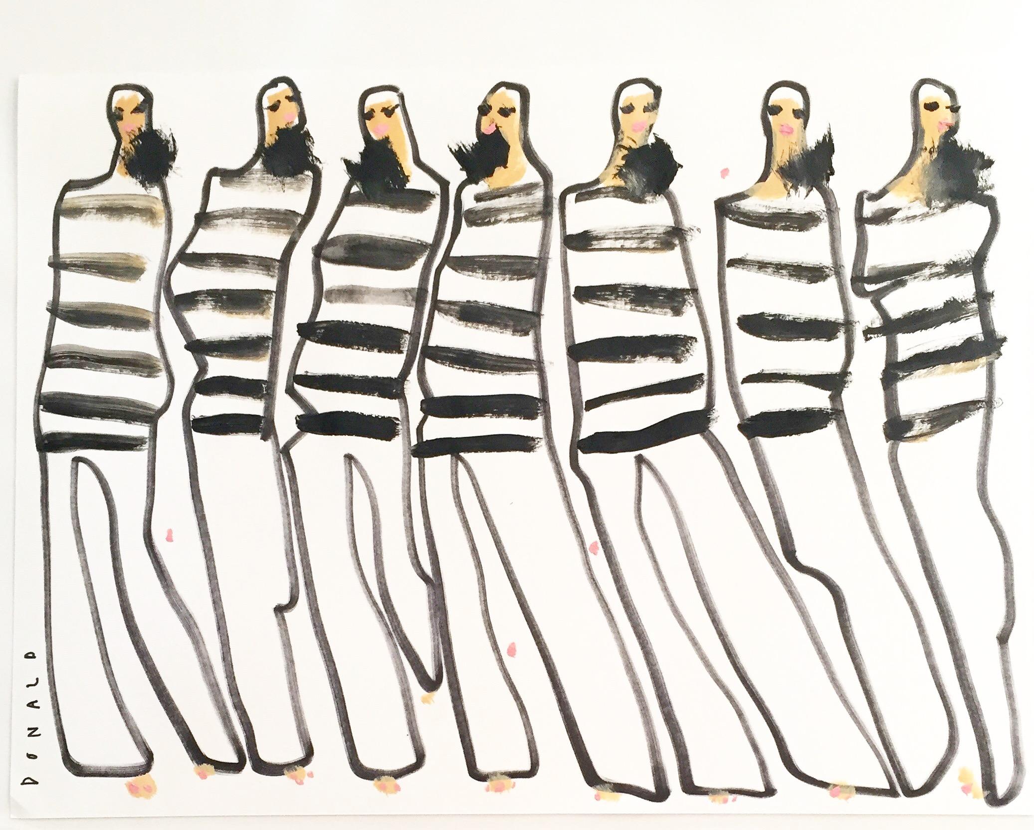 Donald Drawbertson Fashion Illustration